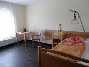 Bewohnerzimmer Haus Charlotte von Kusserow